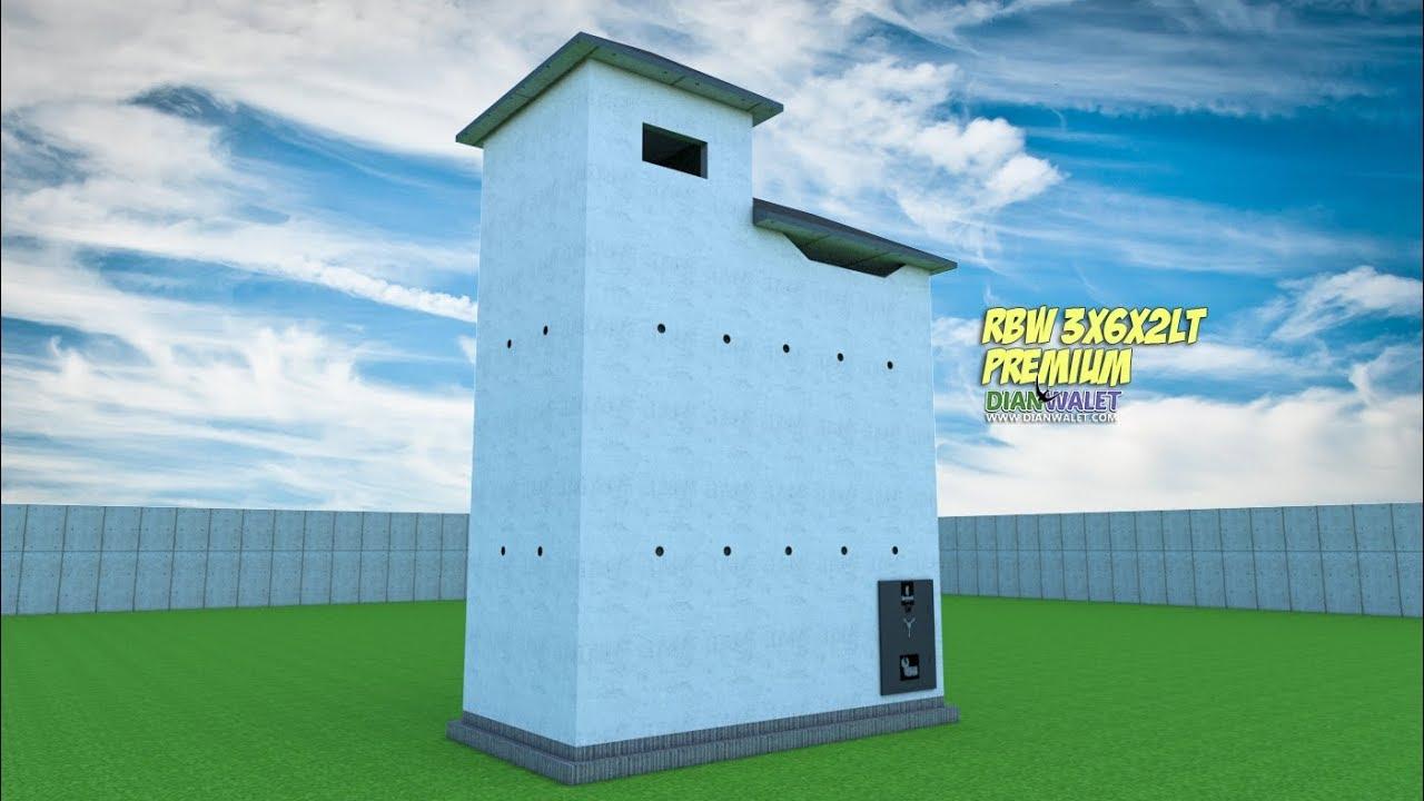 DESAIN Rumah Burung Walet 3X6 2 LANTAI PREMIUM YouTube