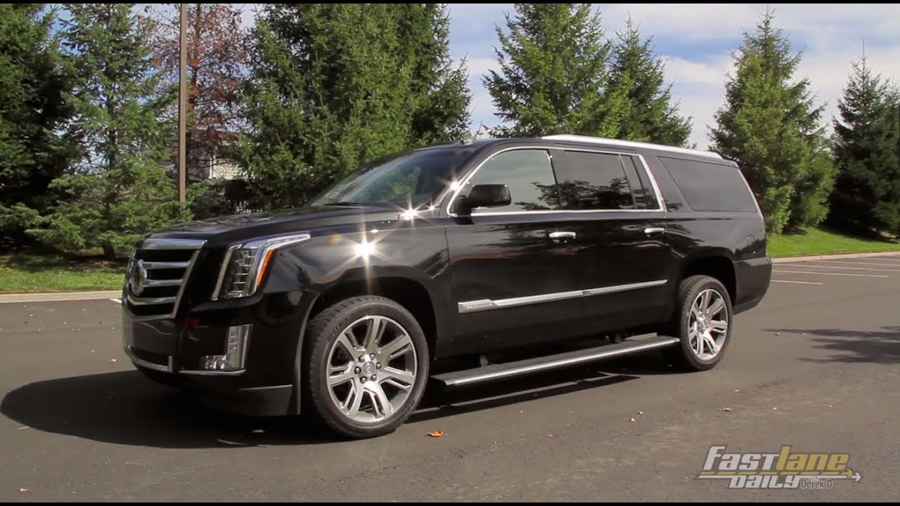 2015 cadillac escalade review fast lane daily youtube. Black Bedroom Furniture Sets. Home Design Ideas