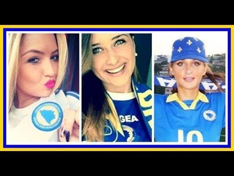 Bosanke u bosanskom dresu ⚜️💗 bosnian girls