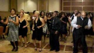 "L-Jet, Instructors Ball - ""The Wobble"" Line dance"
