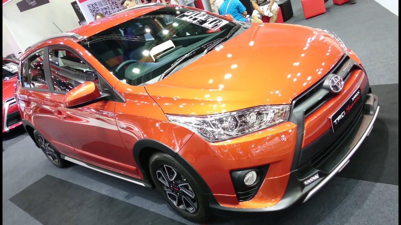Toyota Yaris Trd Sportivo 2017 Grand New Avanza Putih พาชม 1 2 Cvt ภายนอก ภายใน