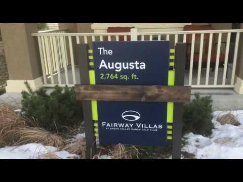 The Augusta Model by Oakwood Homes at Green Valley Ranch in Denver Colorado