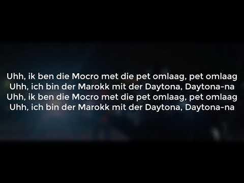 MIAMI YACINE feat. PARA MOCRO - DAYTONA | LYRICS | DerDoxer