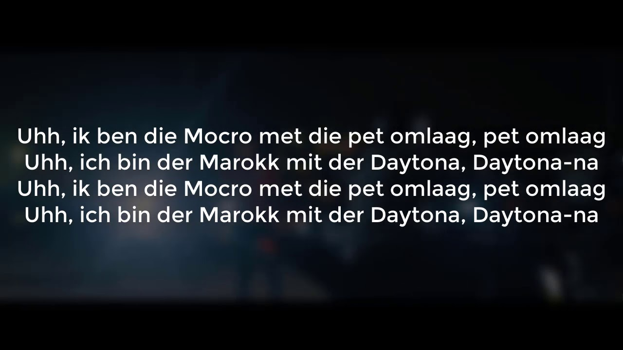 Salmo - Daytona (lyrics) - YouTube