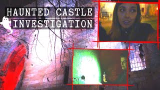 Ghost Hunting In A 1,000 Year Old Castle With My Brother... It Got REAL [CC]