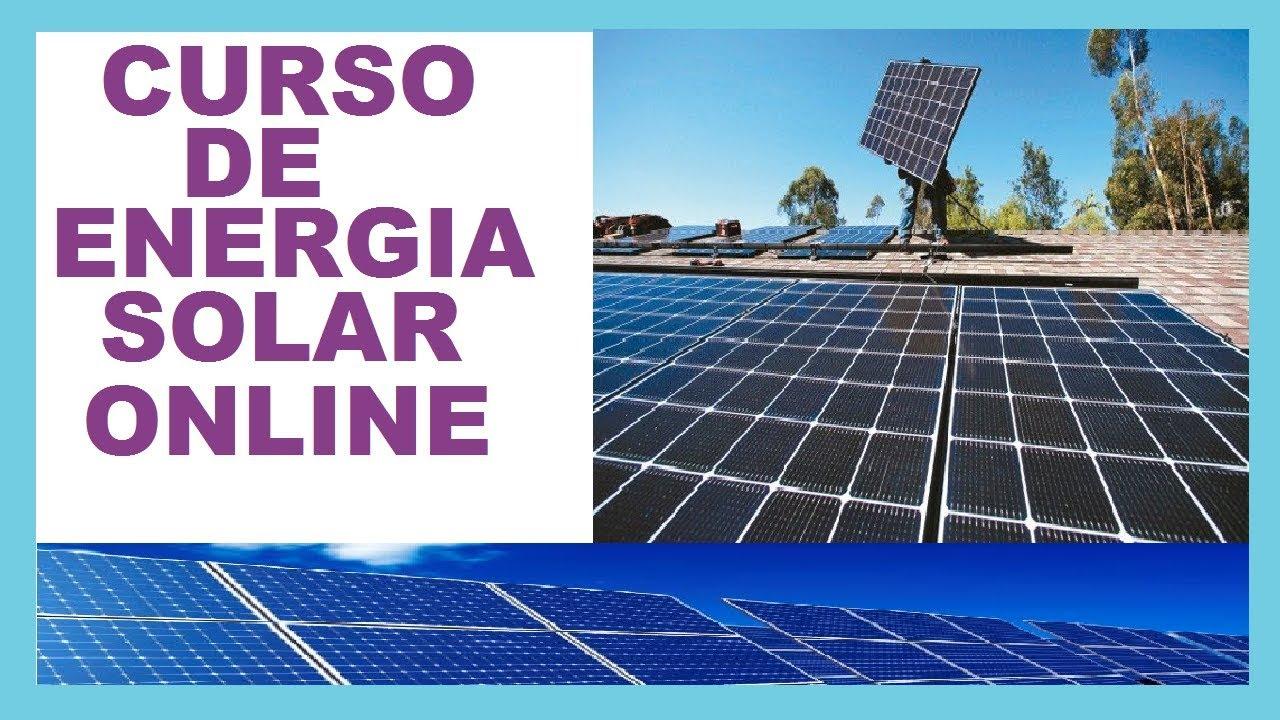 ESTAR EM BUSCA DE UM CURSO DE INSTALADOR DE ENERGIA SOLAR? ESTAR INTERESSADO NA ENERGIA SOLAR?