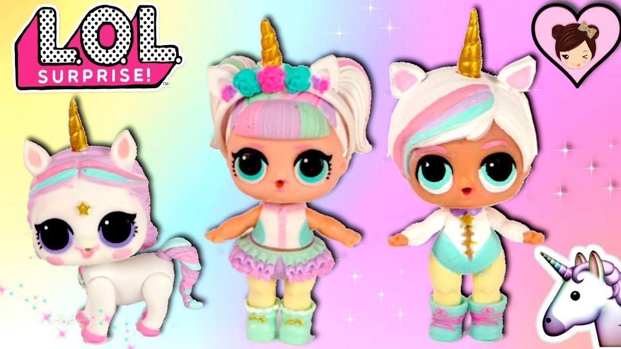 lol unicorn family  diy big brother and custom unicorn