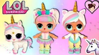Lol, surprise unicorn babydoll gets a brother! and a new custom uni...