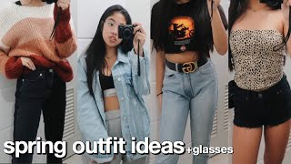 my spring outfits of the week! ft. Glasses