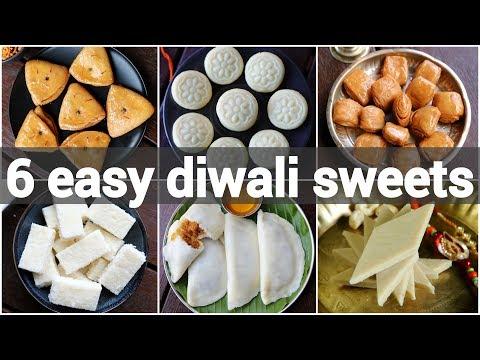 Diwali Sweets Recipes Collection | Deepavali Dessert Recipes | Easy Diwali Recipes