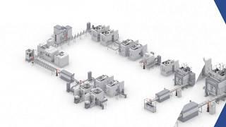 Производственная система EMAG для обработки валов электродвигателей
