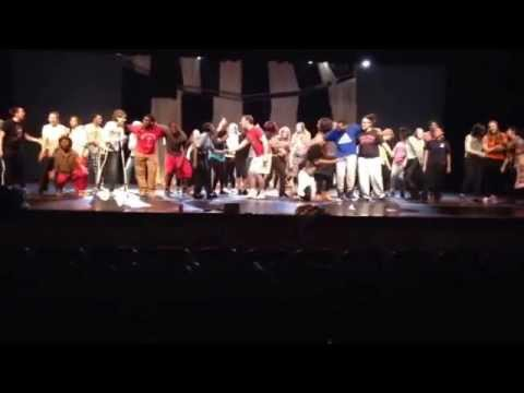 Leap Of Faith rehearsal- Penn Hills Senior High School