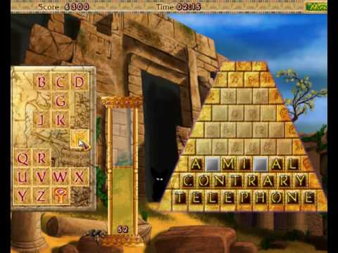 Amazing Pyramids Word Puzzle Game