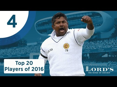 4) Rangana Herath | Lord's Top 20 Players of 2016