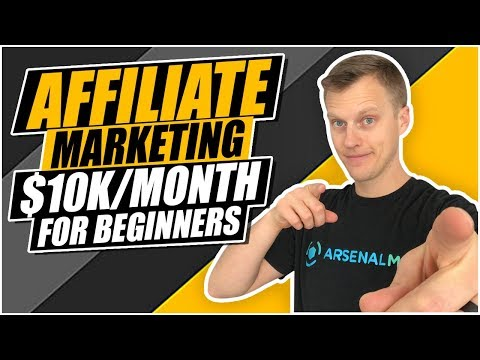 How To Start Affiliate Marketing For Beginners ($10k/Month Passively) thumbnail