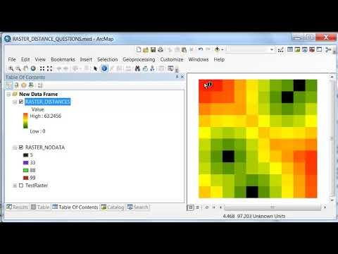 Raster Distance Analysis