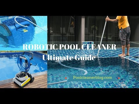 The Best Dolphin Escape Robotic Above Ground Pool Cleaner REVIEW