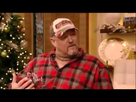 LARRY THE CABLE GUY Interview  Live with Kelly and Michael