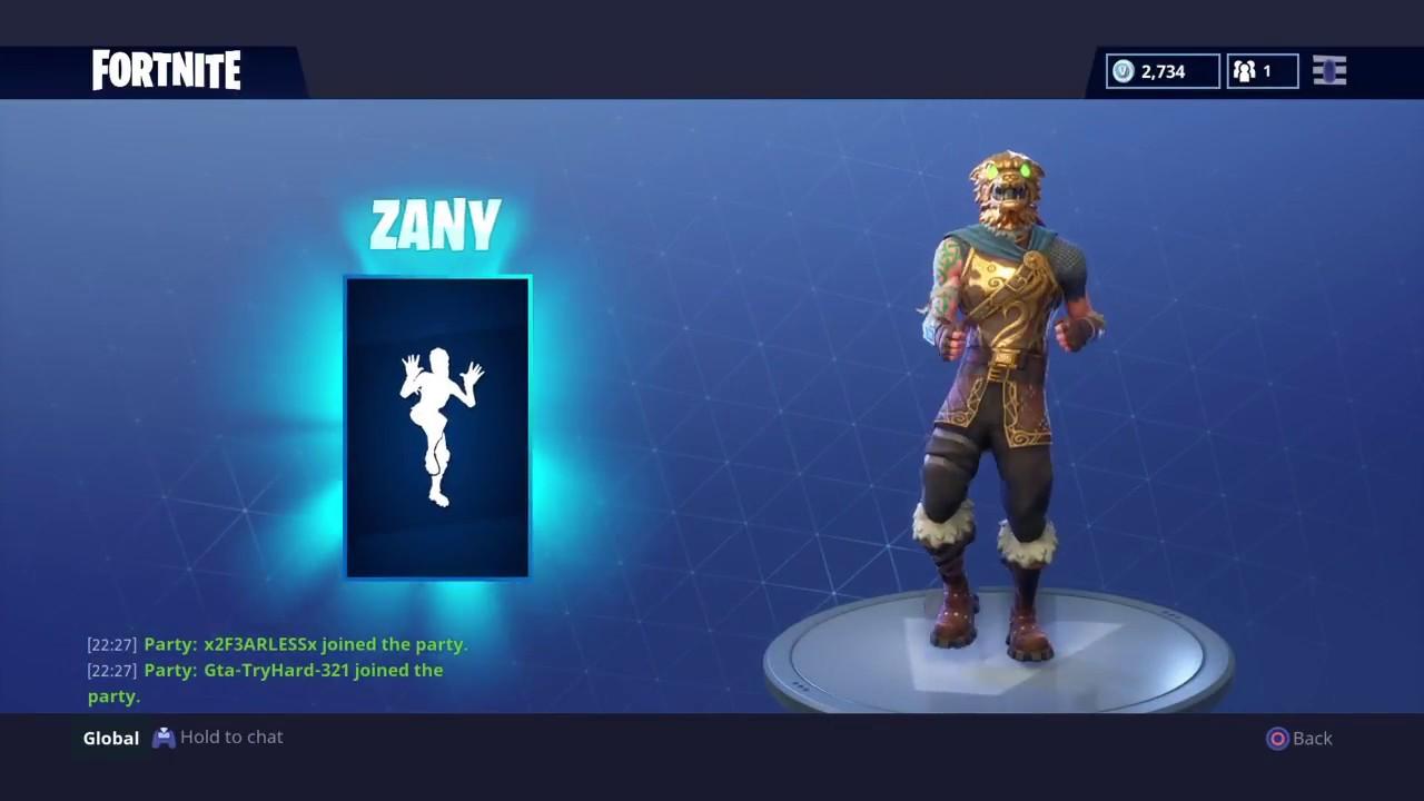Image result for zany emote fortnite