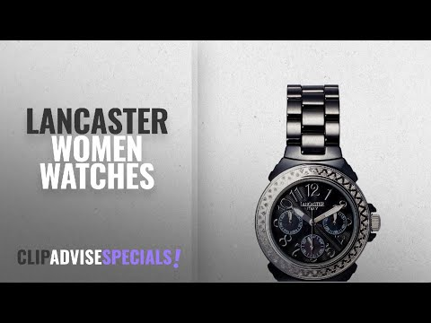 10 Best Selling Lancaster Women Watches [2018 ]: Lancaster Italy Women's Watch OLA0649SS/NR