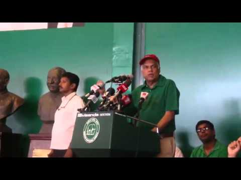 ranil wickremasinghe speech may day rally at sirikotha