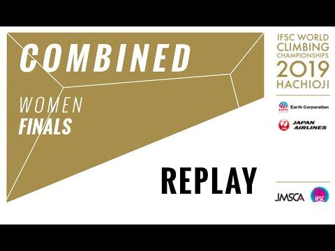 IFSC Climbing World Championships - Hachioji 2019 - COMBINED - Women Finals