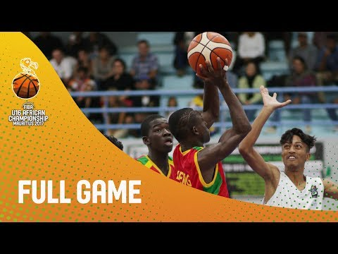 Mauritius v Mali - Full Game - FIBA U16 African Championship 2017