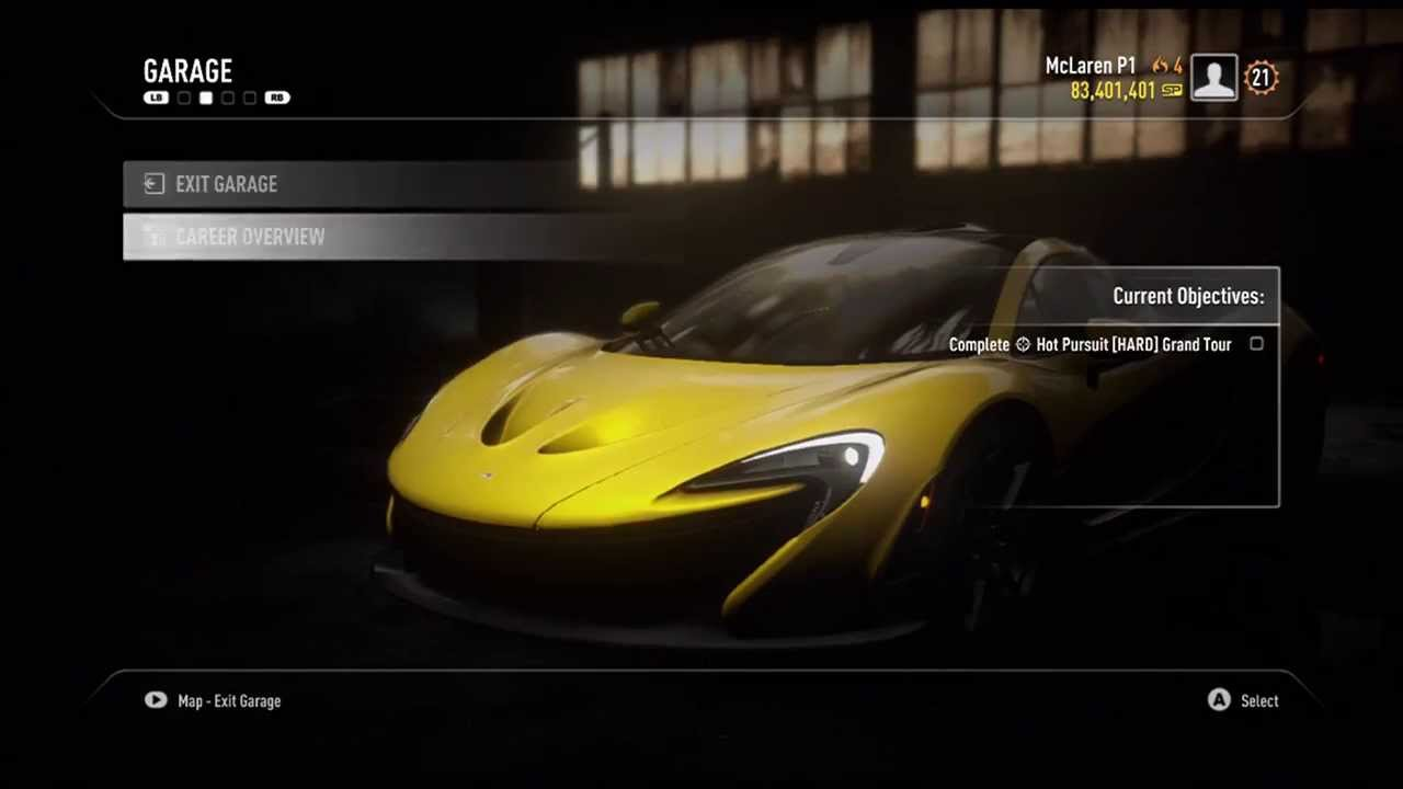 Fully Customized Mclaren P1 Need For Speed Rivals