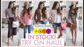 NORDSTROM ANNIVERSARY SALE TRY ON HAUL 2019 | ITEMS IN STOCK!!