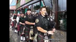 Seattle Firefighters Pipes and Drums at A Terrible Beauty