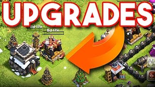 Clash of Clans :: TH9 UPGRADES AND CHRISTMAS UPDATE :: SPENDIN MONEY!