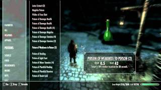 Skyrim Mod Review-Categorized Favorites Menu