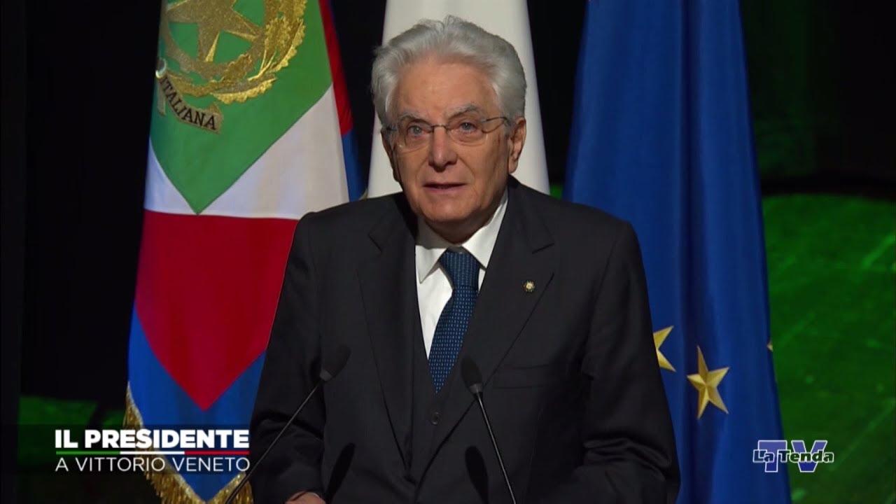 Il Presidente a Vittorio Veneto - Diretta La Tenda Tv