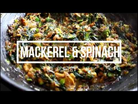 how to make spinach curry