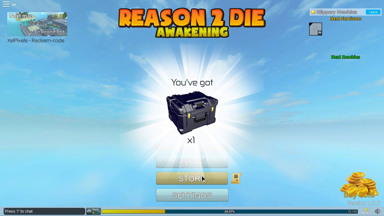 roblox reason 2 die codes 2019