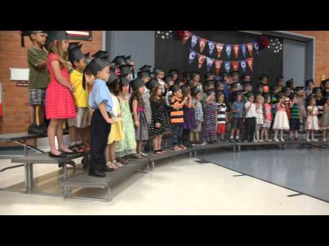 Start Spreading the News - Kindergarten Graduation