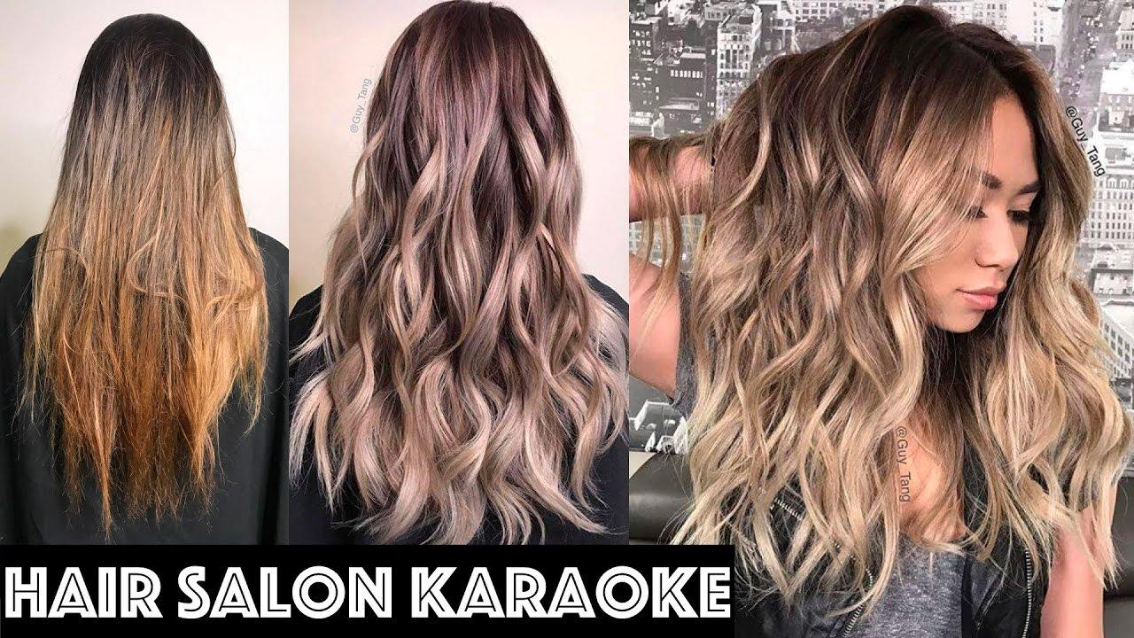 Célèbre Hair Salon Karaoke - YouTube HY11