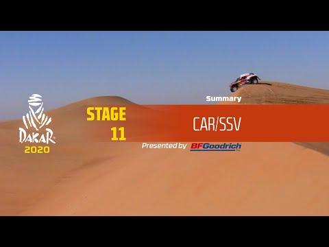 Dakar 2020 - Stage 11 (Shubaytah / Haradh) - Car/SSV Summary
