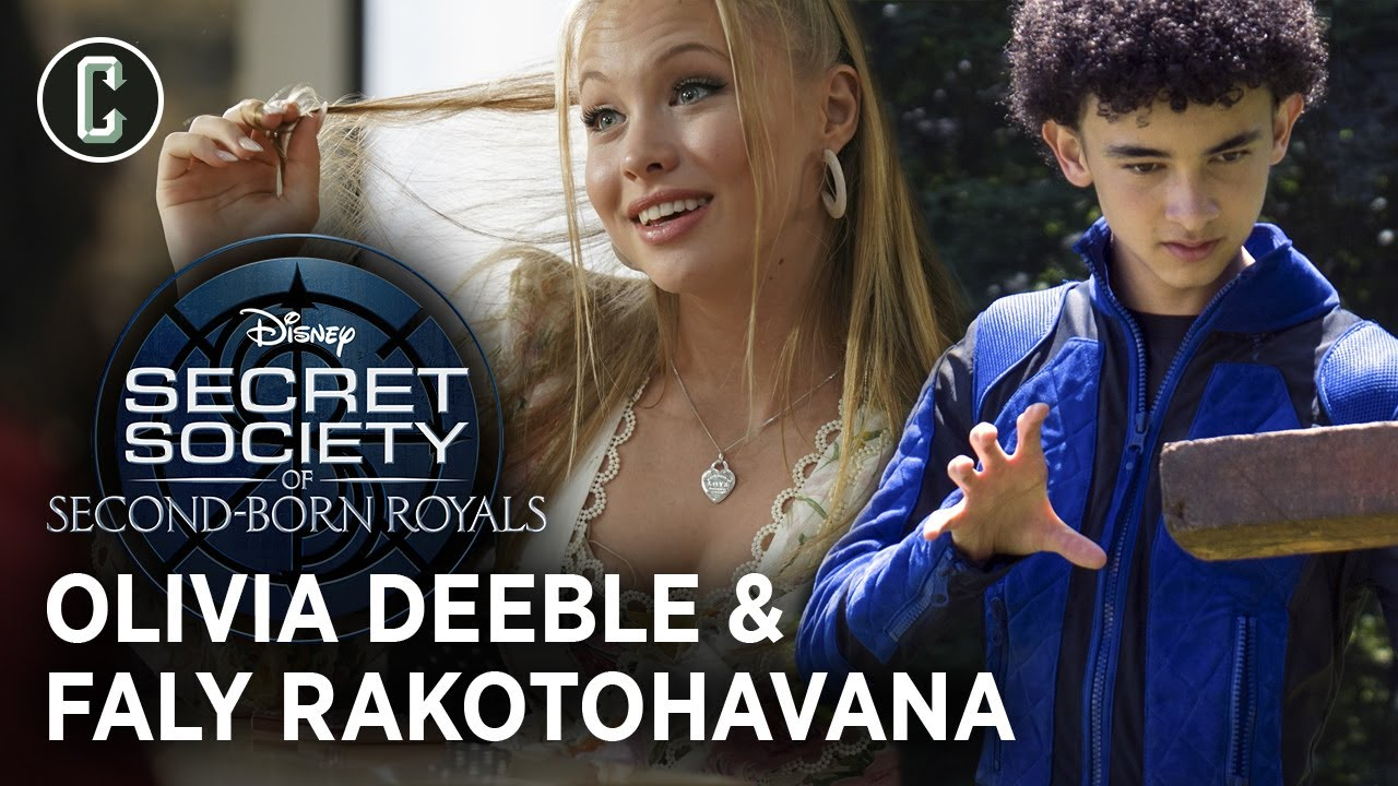 Second-Born Royals: Olivia Deeble and Faly Rakotohavana on Their New Disney+ Film