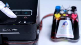видео Купить снпч для epson st s22/sx125/sx420w/sx425w/bx305f (t1281-1284) unijet (ninestar) ng-s22
