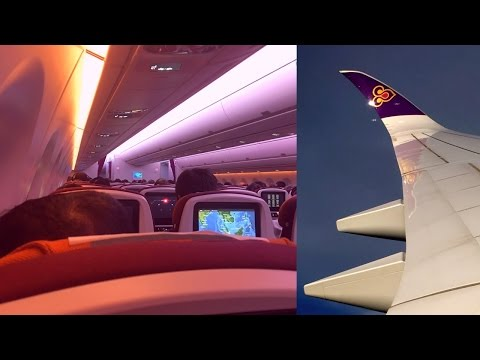 Thai Airways Airbus A350-900 Bangkok - Singapore (HS-THB)