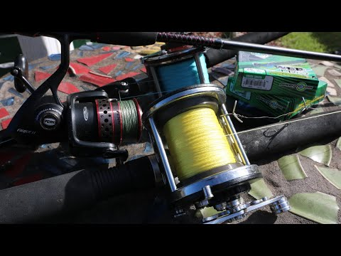 2 Must HAVE Braided Fishing Lines Sizes For Saltwater!