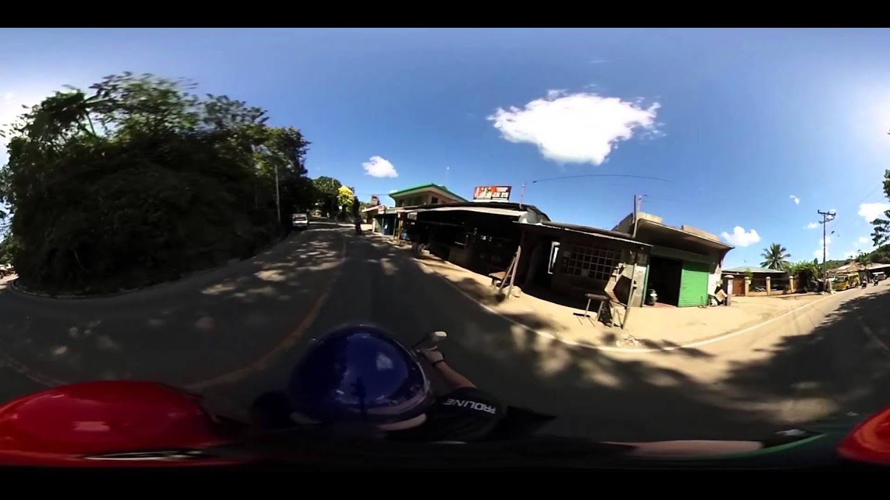 360 video driving up to tops in busay cebu ph with ricoh theta s