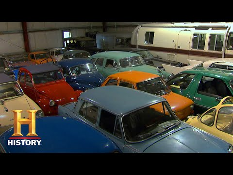 American Pickers: Mike's Mega-Pick Freak Out Over Massive Car Collection (Season 11) | History