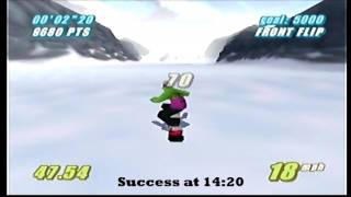 Twisted Edge Extreme Snowboarding | Part 7: Stunt Challenge (50,563 Points) [N64]
