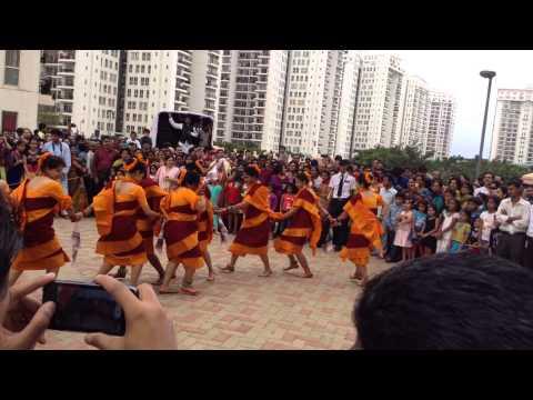 PSN Ganesh Puja Oriya Sambalpuri Dance Jai Fula