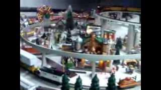 2013 Christmas Village Layout 2014 Update.