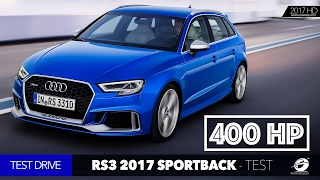 2018 Audi RS3 Sportback - TEST DRIVE EXHAUST SOUND - 400 HP Fast Car Auto