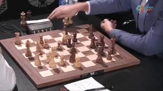 M. Carlsen - S. Karjakin. Blitz