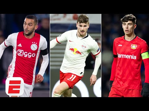 how-hakim-ziyech,-timo-werner-&-kai-havertz-could-shape-chelsea's-attack---espn-fc